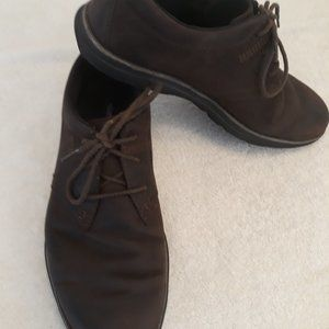 Timberland Brown Oxfords Ortholite Insole 3 Eyelet